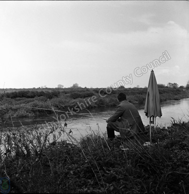 Fishing, River Wharfe, Cawood